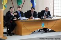 Palestra com o juiz Manoel Costa Neto e o Promotor Deijaniro Jonas.