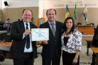 Entrega do título de Cidadão Itabaianense a Sérgio Fotógrafo e Aparecido Donato
