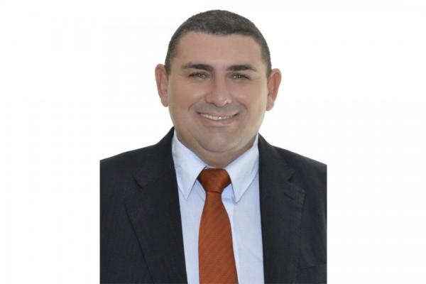 Foto do vereador Sinvaldo Gois Teixeira