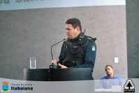 COMANDANTE DO 3º BPM FAZ EXPLANAÇÃO SOBRE O TRABALHO DESENVOLVIDO PELA POLÍCIA MILITAR EM ITABAIANA