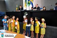 Homenagens ao dia da criança e de Nossa Senhora Aparecida