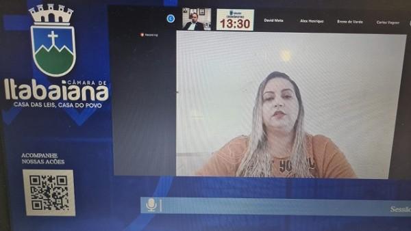 CÂMARA DE VEREADORES DE ITABAIANA – SESSÃO ORDINÁRIA 01/06/2021