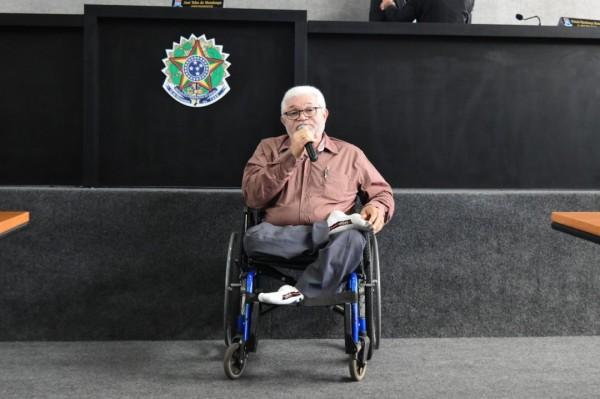 Palestra sobre a Semana Nacional da Pessoa com Deficiência Inteletual e Múltipla foi destaque durante a Sessão da Câmara desta quinta-feira, 23/08