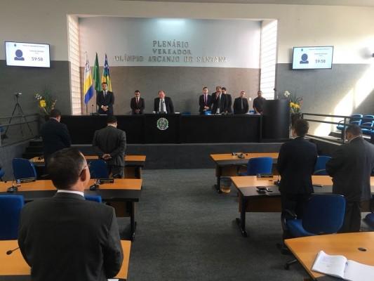 Sessão Ordinária do dia 15/05 é suspensa em razão da morte do ex-vereador Riva de João do Volta