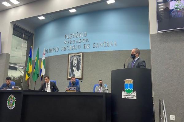 Especialista Danilo Falcão apresenta Código de Ética e Decoro Parlamentar aos vereadores