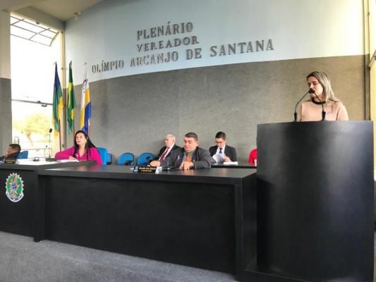 CÂMARA PROMOVE PALESTRA SOBRE O COMBATE A TODAS AS FORMAS DE VIOLÊNCIA CONTRA A MULHER