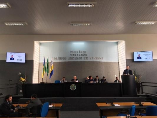 Vereador Marcos Oliveira declarou que votar para Belivaldo seria uma afronta aos seus próprios princípios
