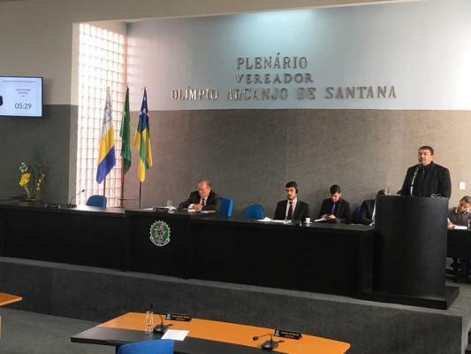Inaugurações de obras nos Povoados Cajaíba, Ribeira e Mangueira no último domingo (06/05), foram destaque na Sessão de hoje