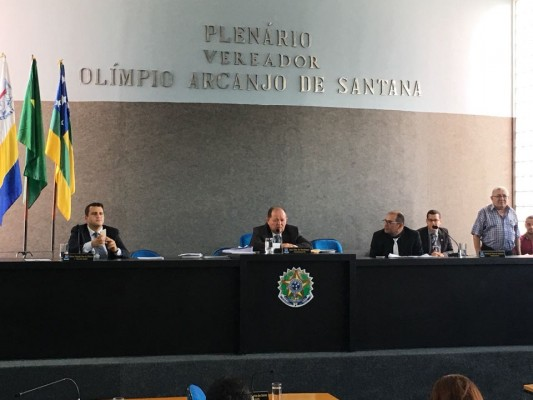 Saída de vereadores de oposição do plenário durante sessão inviabiliza votação da Lei de Diretrizes Orçamentárias