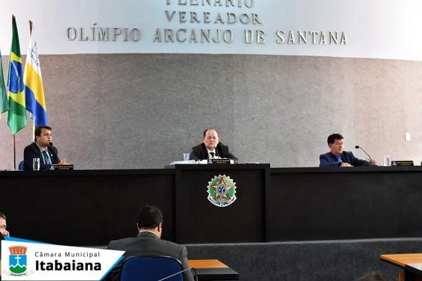 Vereadores aprovam por unanimidade em 1ª votação, Projeto de Preservação do Patrimônio Histórico, Cultural e Natural de Itabaiana.