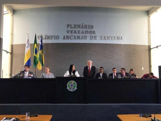 PRESIDENTE DA CÂMARA LAMENTA ATITUDE DOS VEREADORES DE OPOSIÇÃO E ENCERRA A SESSÃO EXTRAORDINÁRIA