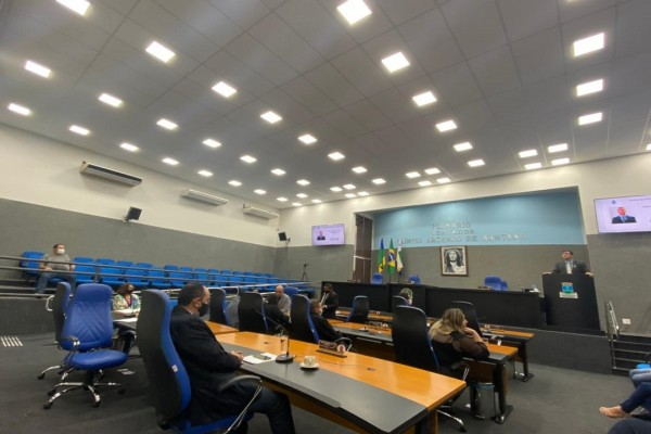 Mais de 400 proposituras foram analisadas pelos vereadores no primeiro semestre de 2021