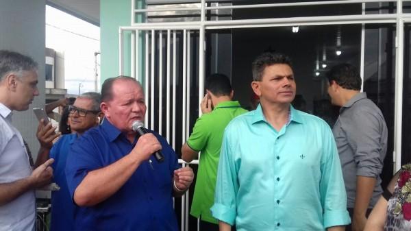 Presidente da CMI prestigia inauguração da Unidade Básica de Saúde do Bairro Bananeiras
