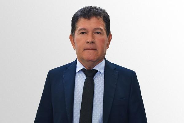 Foto do vereador Moisés Mendonça Mota