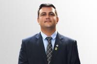 Foto do presidente Marcos Vinicius Lima de Oliveira